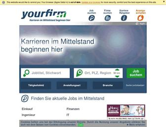 yourfirm.de screenshot