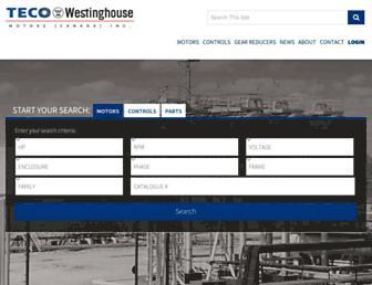 tecowestinghouse.ca screenshot