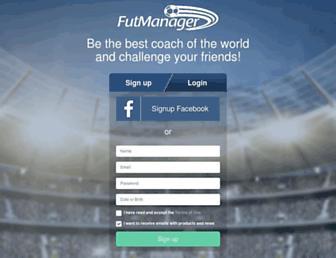 futmanager.com screenshot