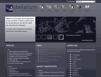 stellarium.org screenshot