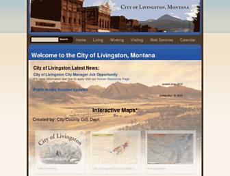 livingstonmontana.org screenshot