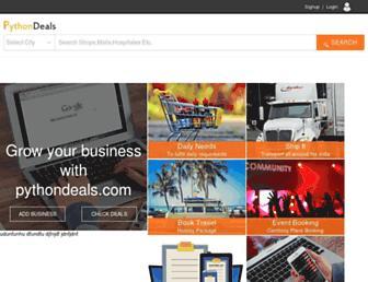 pythondeals.com screenshot
