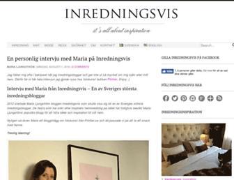 Thumbshot of Inredningsvis.se