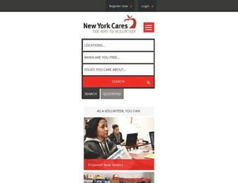Thumbshot of Newyorkcares.org