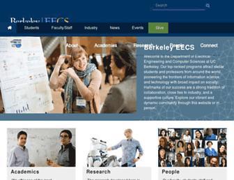 people.eecs.berkeley.edu screenshot