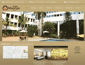 maurya.com screenshot
