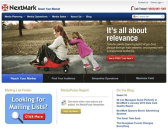 Thumbshot of Nextmark.com