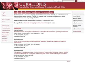curationis.org.za screenshot
