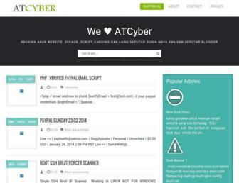 atcyber-id.blogspot.com screenshot