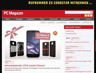 Main page screenshot of wekashop.de