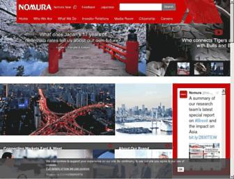 Thumbshot of Nomura.com
