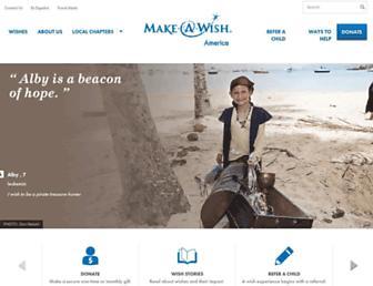 wish.org screenshot