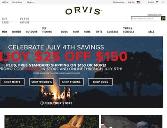 Thumbshot of Orvis.com