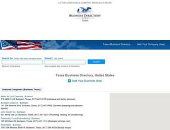 texas-businessdirectory.com screenshot