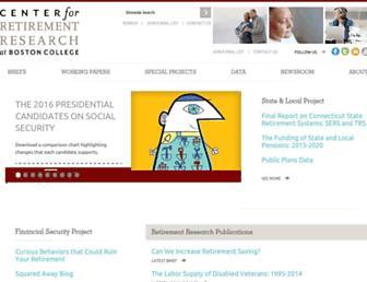 crr.bc.edu screenshot