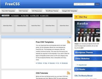 Thumbshot of Freecss.info