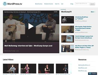 Thumbshot of Wordpress.tv