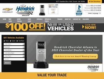 hendrickatlanta.com screenshot