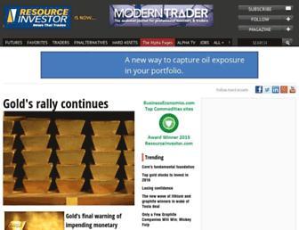 Thumbshot of Resourceinvestor.com