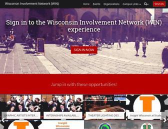 win.wisc.edu screenshot