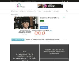 portalmoznews.com screenshot