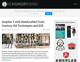 Thumbshot of Onehungrymind.com