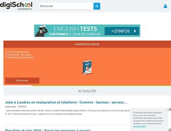 marketing-etudiant.fr screenshot