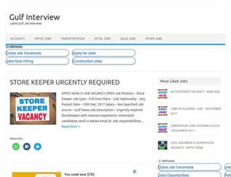 gulfinterview.com screenshot