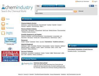 chemindustry.com screenshot
