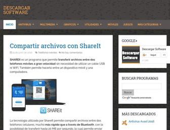 descargarsoft.com screenshot