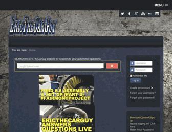 ericthecarguy.com screenshot