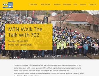 walkthetalk.co.za screenshot