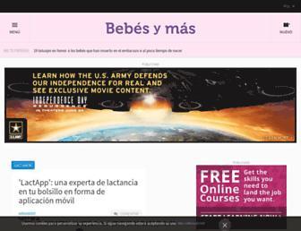 bebesymas.com screenshot