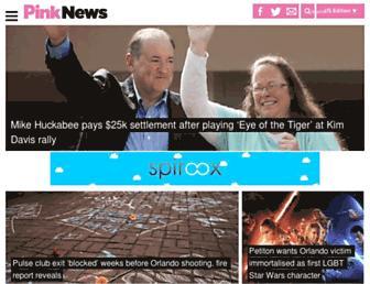 Thumbshot of Pinknews.co.uk