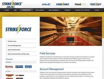 strikeforce.com.au screenshot