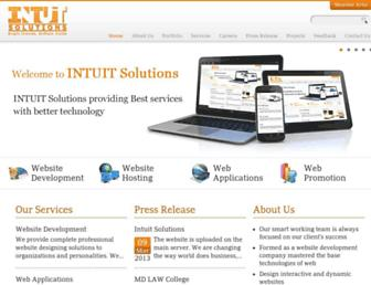 Thumbshot of Intuitsolutions.ca