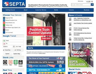 Thumbshot of Septa.org
