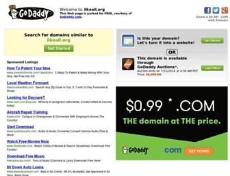 Thumbshot of Likeall.org