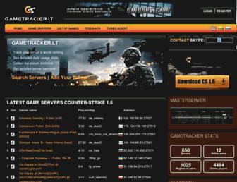 gametracker.lt screenshot