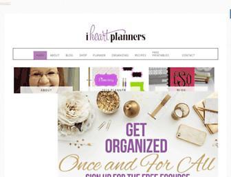 iheartplanners.com screenshot