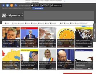stiripesurse.ro screenshot