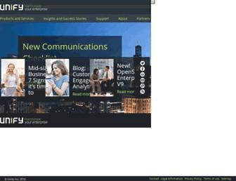 unify.com screenshot