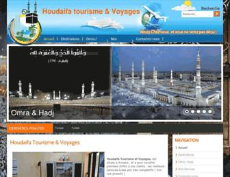 houdaifa-tourisme.com screenshot