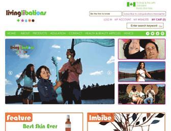 Thumbshot of Livinglibations.com