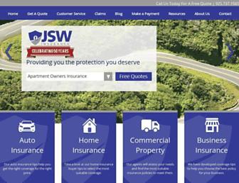 jswinsurance.com screenshot