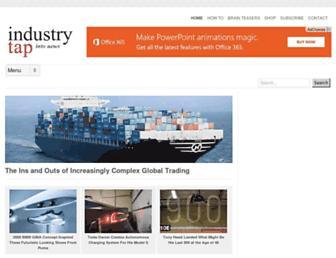 Thumbshot of Industrytap.com