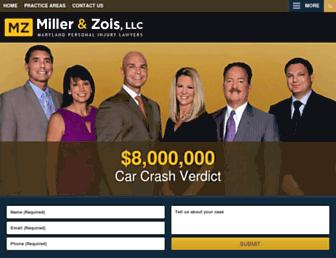 millerandzois.com screenshot