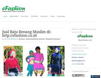 efashion.wordpress.com screenshot