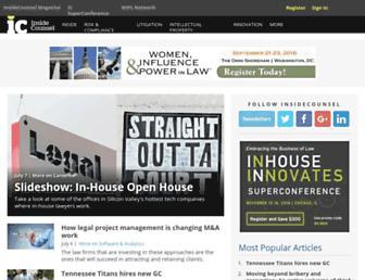 Thumbshot of Insidecounsel.com