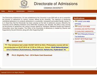 Thumbshot of Ouadmissions.com